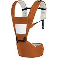 R for Rabbit Upsy Daisy - The Smart Hip Seat Baby Carrier (Brown Cream)
