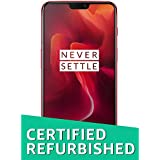 (CERTIFIED REFURBISHED) OnePlus 6 (Red, 8GB RAM + 128GB Memory)