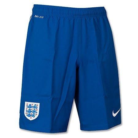 Nike England Short Home Stadium WM 2014 Kinder L - 147-158 cm (Nike Dri-fit-pull)