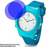 2X Crystal Clear klar Schutzfolie für Tchibo Kinder-Telefonuhr Displayschutzfolie Bildschirmschutzfolie Schutzhülle Displayschutz Displayfolie Folie