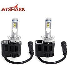 ATSHARK 2x 110W H4 4PCS LED Lampadina
