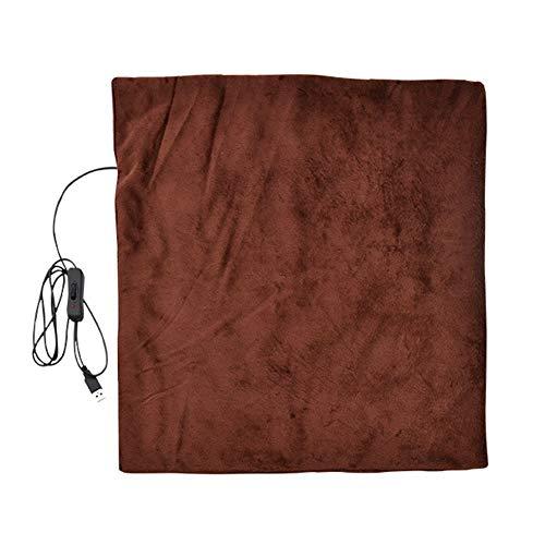 Preisvergleich Produktbild USB-Heizschal,  elektrische Überwurfdecke,  Infrarot Heizung Konservierung Fleece,  Schulterschal,  Nackenpolster,  wärmendes Kissen,  tragbar für Zuhause oder Büro