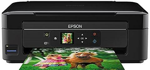 Epson Expression Home XP-322 5760 x 1440DPI Jet d'encre A4 33ppm Wifi multifonctionnel - multifonctions (Jet d'encre, Impression couleur, Copie couleur, Numérisation couleur, Noir, Cyan, Magenta, Jaune, Manuel)