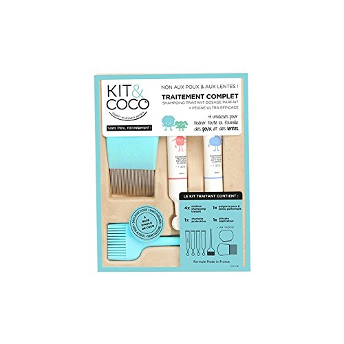 Kit shampooing traitant 4 x 25 ml + accessoires