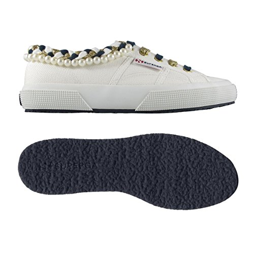 Superga 2750Cotpearlsw Schvili, Sneaker Donna Bianco (901 White)