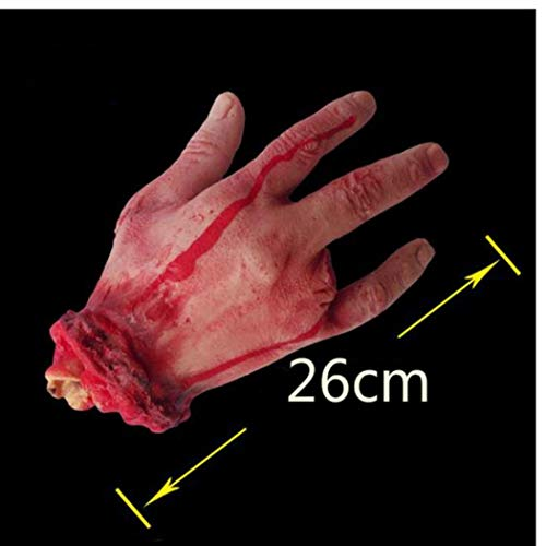 rror Props blutige Hand Geisterhaus-Partei-Dekoration Scary Hand ()