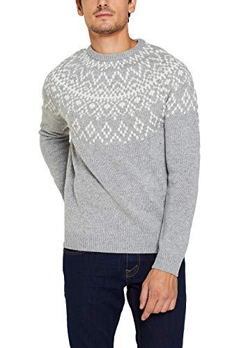 ESPRIT Mit Wolle: Pullover aus Norweger-Strick