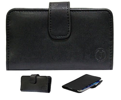 Jo Jo A8 Nillofer Leather Carry Case Cover Pouch Wallet Case For Samsung Galaxy Note 3 N9005 with 3G & LTE connectivity Black  available at amazon for Rs.295
