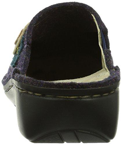 Rohde Mainz, Pantofole Donna Viola (Violett (59 Brombeere))