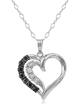 Original McPearl Diamant Herz Anhänger mit Kette. Top Qualität aus der westfälischen Schmuckmanufaktur.
