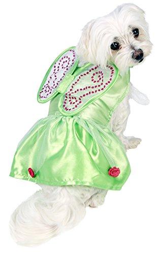 nkerbell Hundekostüm, hellgrün (Tinkerbell Kostüm Hund)