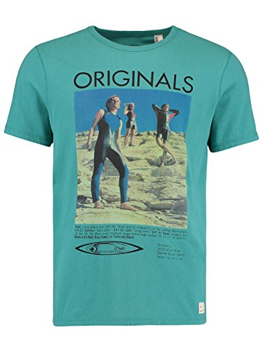 "Herren T-Shirt ""The 70´s"" Aqua"