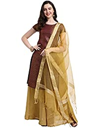 987273f7f Amazon.in  Art Silk - Salwar Suits   Ethnic Wear  Clothing   Accessories