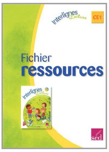 Interlignes lecture CE1 : Fichier ressources