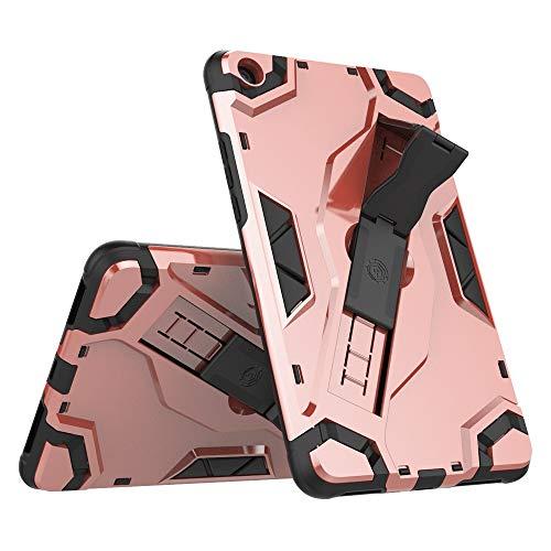 BMD-CASES Für Handy-Schutzhüllen, für Xiaomi Mipad 4 / Mi-Pad 4 (8,0 Zoll) -Hülle, Hybrid-Rüstung für hohe Beanspruchung Stoßfestes Tablet-Gehäuse mit faltbarem Ständer, Haltegurt, Schutzhülle