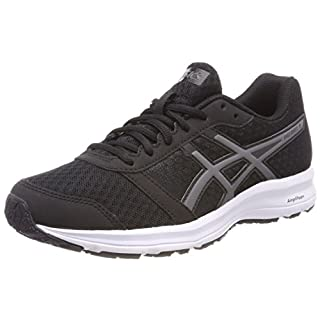 ASICS Women's Patriot 9 Competition Running Shoes, (Black/Carbon/White 9097), 40.5 EU (7 UK)
