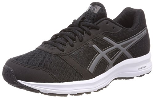 Asics Patriot 9, Zapatillas de Running para Mujer, Negro (Black/Carbon/White 9097), 36 EU