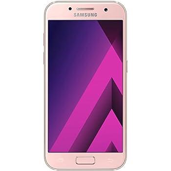 Samsung Galaxy A3 2017 Smartphone libre (4.7, 2GB RAM, 16GB, 13MP), color Peach-Cloud