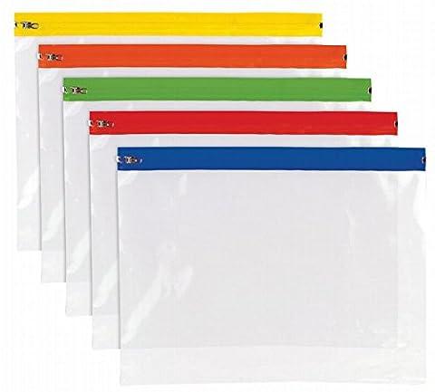 Pack of 25 x A4+ Polythene Zip Bag & Inspirational