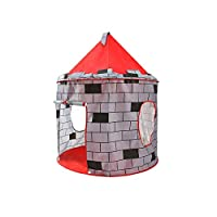 HJGHFH Childrens Pop Up Castle - Suitable for Indoor & Outdoor Use