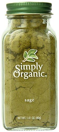 Simply Organic 28712 Organic Boden Sage