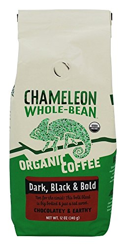 Preisvergleich Produktbild Chameleon Cold-Brew - Whole Bean Organic Coffee Chocolatey & Earthy - 12 oz.