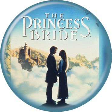 Ata Boy Filmposter Princess Bride, Pinback Button, 3,8 cm -
