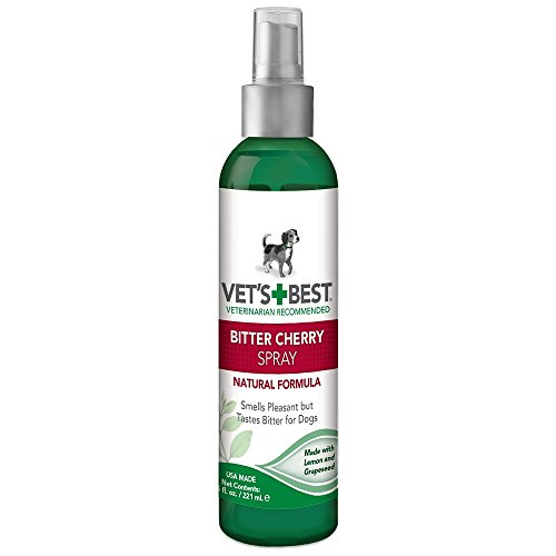 Artikelbild: VET 'S BEST Bitter Cherry Spray keine Kauen Hund Abschreckung