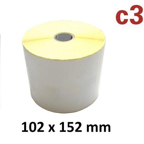 Preisvergleich Produktbild 102x152 mm ThermoEtiketten Rolle mit 475 Versandetiketten DHL, DPD, GLS, UPS