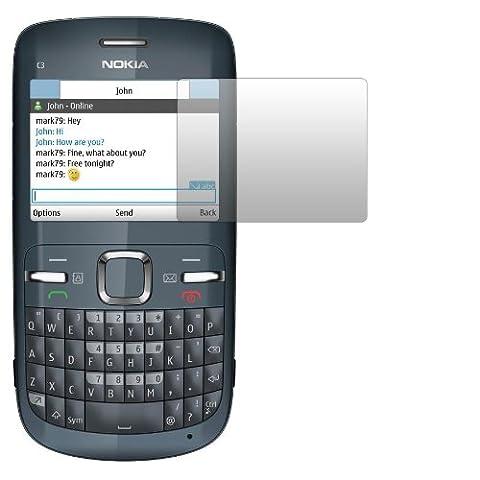 Coque Nokia C3 - 2 x Slabo Film de protection d'écran