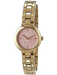 Esprit Damen-Armbanduhr April Analog Quarz Edelstahl beschichtet ES107212005