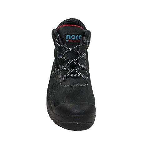Nora Clint UK S3 SRC Sicherheitsschuhe Arbeitsschuhe Berufsschuhe Businessschuhe Trekkingschuhe hoch Schwarz Schwarz
