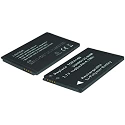 Batterie pour HTC A6262, G3, Hero, T5399, Tattoo, Touch 2, Touch Diamond2 Smart Phone Battery