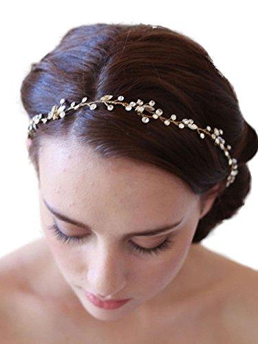 Gracewedding Modisches Strassstein-Braut-Haarband, Hochzeits-Kopfschmuck, Accessoire
