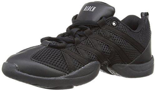 Bloch 524 Criss Cross Tanz Sneaker , Schwarz , Gr. EU 40 2/3 (US 10/UK 7)