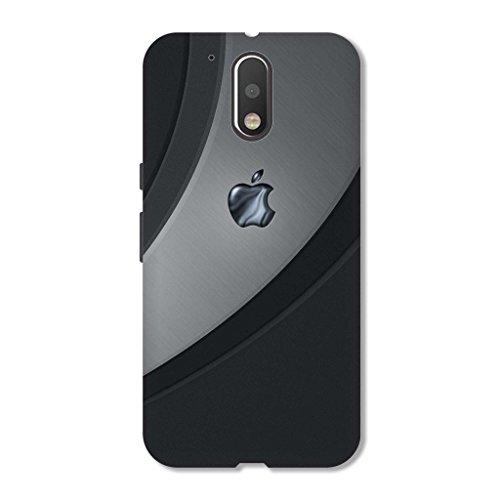 Hamee Printed Hard Back Cover / Case for Lenovo K6 Power Apple 2