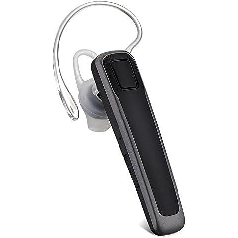 Mpow FreetaIK Manos Libres Auriculares Bluetooth Inalambrico con Doble Micrófonos y Tecnología de Ruido-Cancelación Comptible iPhone 7 7s 6s 5s, Huawei P9 P8 Lite,LG, Moviles Android