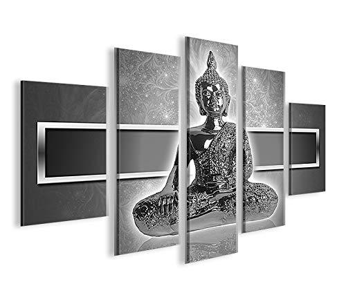 Imagen sobre lienzo de Islandburner Buda zen V2 MF XXL cuadro decorativo para salón