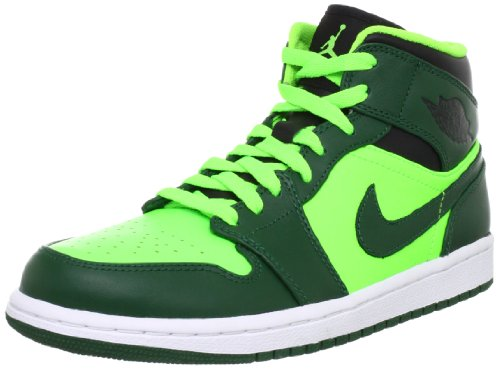 NIKE AIR JORDAN 1 MID 554724-330 Größe 44 (Michael Jordan Schuhe Größe 3)