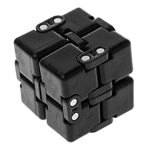 Senoow Fidget Unendlich Cube Fokus Schreibtisch Finger Spielzeug Stressabbau Erwachsene Kinder Geschenke