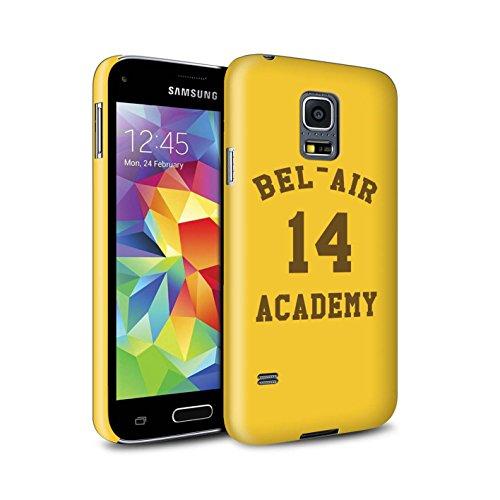 Bel Air Mini (Stuff4® Matte Snap-On Hülle/Case für Samsung Galaxy S5 Mini/Bel Air Akademie Muster/Komisch Prinz Fernsehserie Kollektion)