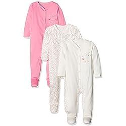 Mothercare Baby Girls' Mummy & Daddy Pyjama Sets, Pale Pink, Premature (Size: 2.3 Kg)