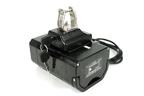 PowerSmart® E-Bike, EBS Pedelec, Seatspost, 36V - 11.6Ah Panasonic Zellen Batterie Akku Li-ion, inkl. Halterung
