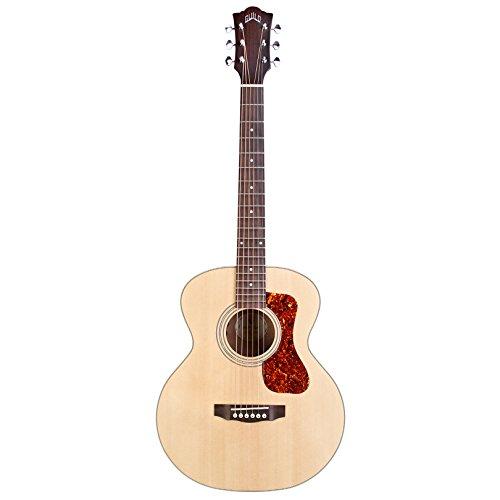 Hermandad Jumbo Junior MH caoba oeste guitarra de viaje