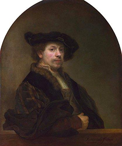 Steve Art Gallery Self-Portrait,Rembrandt Van Rijn,60x50cm (Van Self Portrait Rijn)