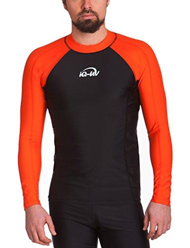 iQ-Company Herren UV-Shirt IQ 300 Watersport Long Sleeve Kleidung, (Siren-Schwarz), M (50) -