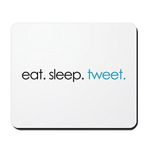 cafepress-eat-sleep-tweet-funny-twitter-shirts-non-slip-rubber-mousepad-gaming-mouse-pad