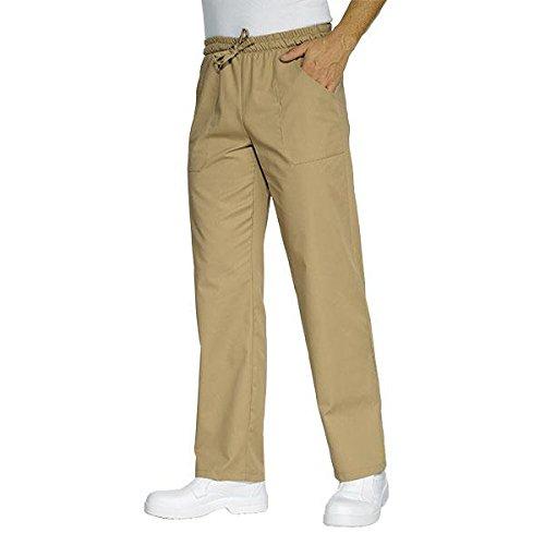 Isacco Pantalone con elastico Biscotto, Biscotto, S, 195 gr/m²