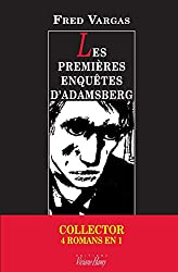 Pack collector Fred Vargas - Les premières enquêtes d'Adamsberg