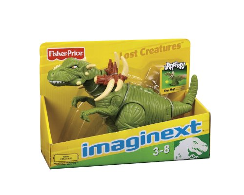 Fisher-Price Imaginext Lost Creatures T-Rex (Fisher Imaginext Price Dinosaurier)
